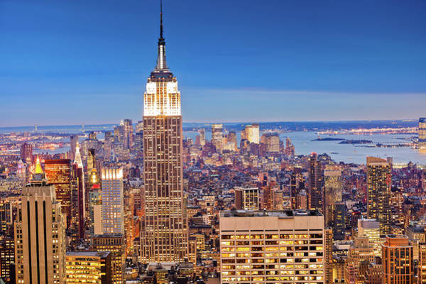 Looking Down Photograph - Manhattan by Pawel.gaul
