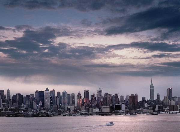 City Of David Photograph - Manhattan Skyline by David Zimmerman
