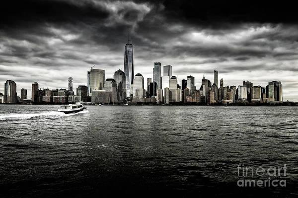 Photograph - Manhattan Skyline by Miles Whittingham