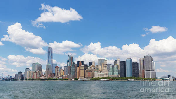 Photograph - Manhattan Skyline by Sanjeev Singhal