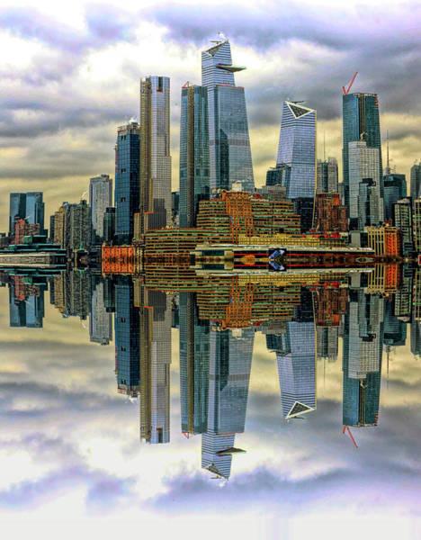 Wall Art - Photograph - Manhattan Skyline  Series 1 by Geraldine Scull