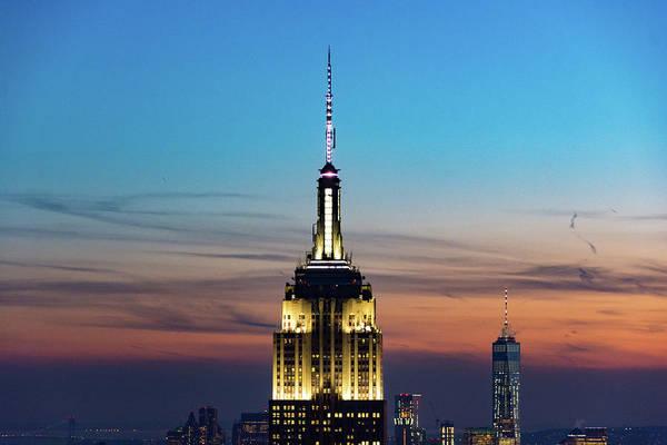 Photograph - Manhattan Twilight by Mark Hunter