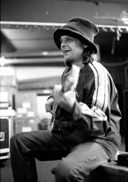 Manchester Photograph - Mani Of The Stone Roses Rehearsing by Martyn Goodacre