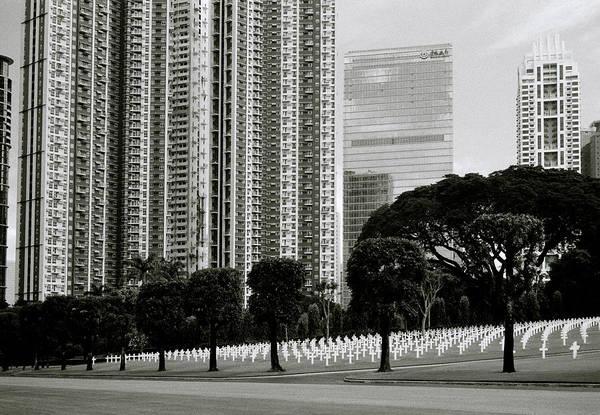 Photograph - Manila Cemetery by Shaun Higson