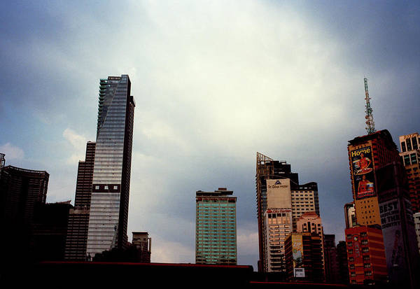 Photograph - Manila Skyline by Shaun Higson