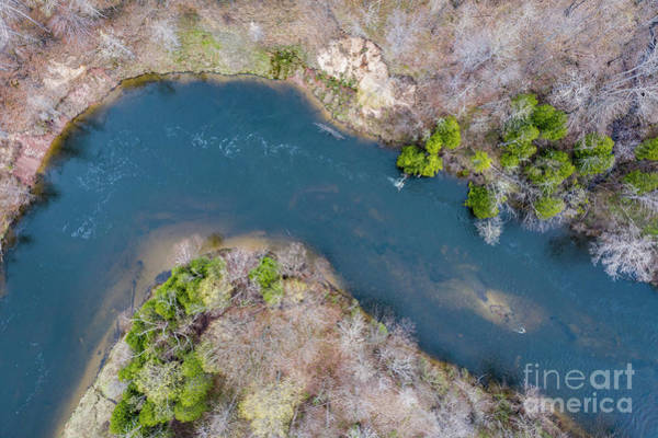 Wall Art - Photograph - Manistee River From Above by Twenty Two North Photography