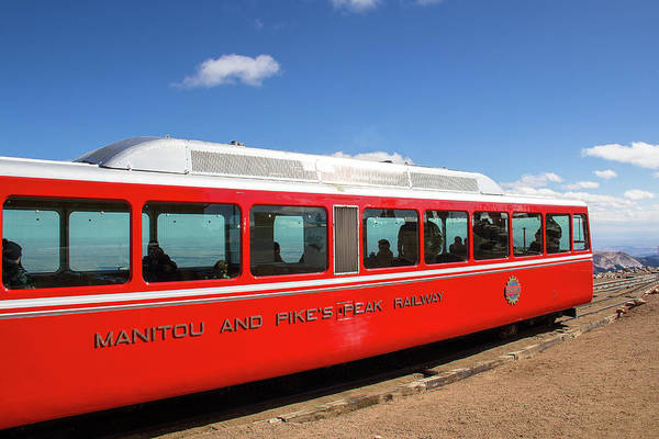 Fourteener Photograph - Manitou And Pikes Peak Railway by Amy Sorvillo