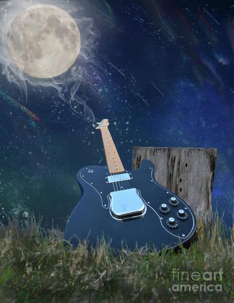 Photograph - Mann On The Moon by Vivian Martin