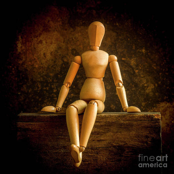 Wall Art - Photograph - Mannequins On A Wooden Box by Bernard Jaubert