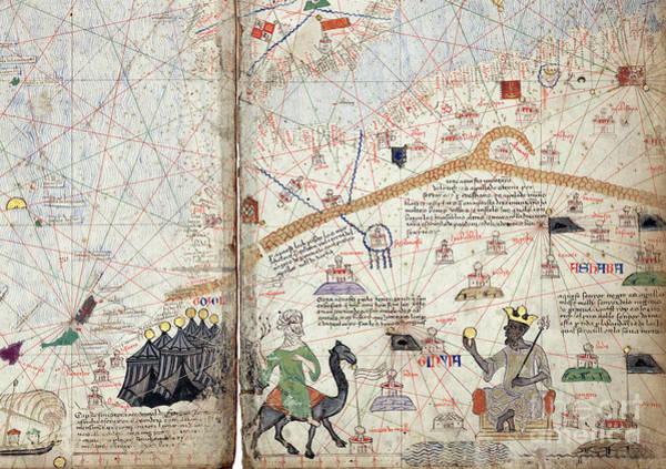Drawing - Mansa Musa by Granger