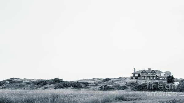 Photograph - Mansion In The Dunes Wellfleet Ma by Edward Fielding