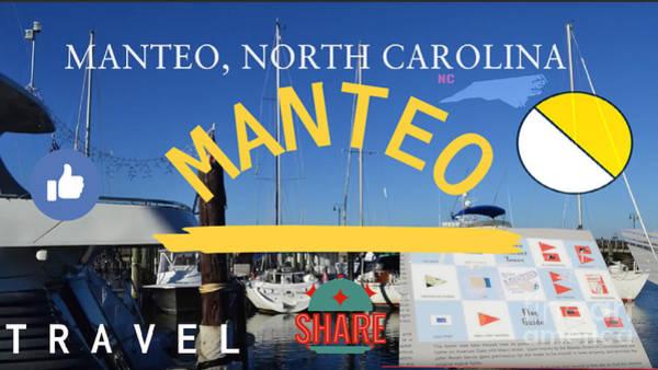 Wall Art - Digital Art - Manteo North Carolina by Karen Francis
