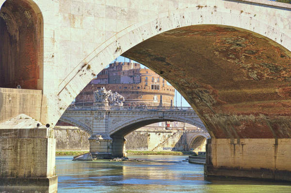 Photograph - Many Bridges Of The Tiber by JAMART Photography