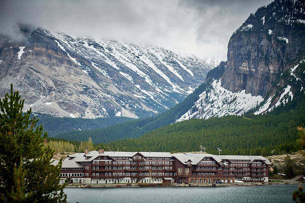 Wall Art - Photograph - Many Glacier Hotel by Paul Freidlund