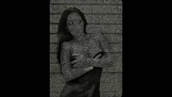 Digital Art - Many Shadesofgray by Stephane Poirier