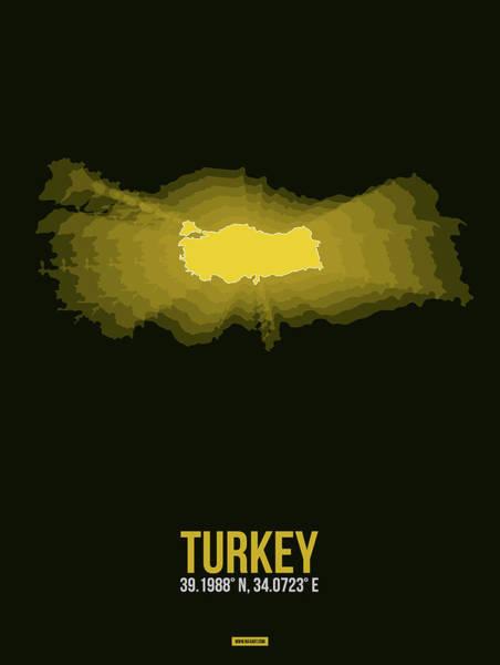 Eames Wall Art - Digital Art - Map Of Turkey 3 by Naxart Studio