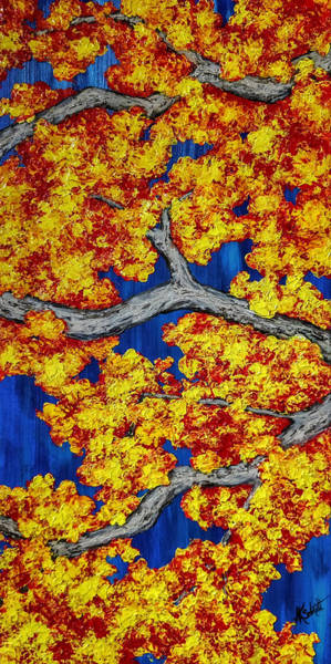 Painting - Maple Branches - Painting by Ashley Koebrick Schmidt