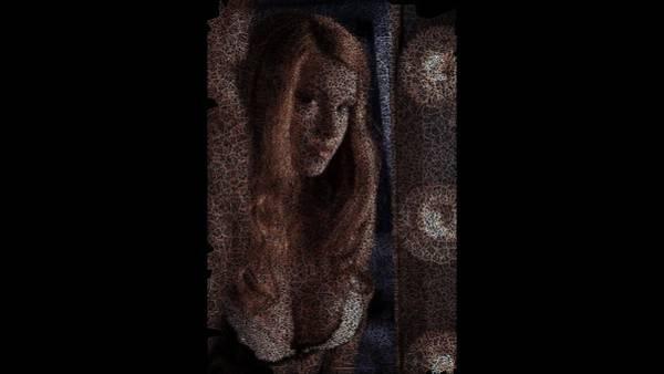 Digital Art - Maquillage Matinal by Stephane Poirier
