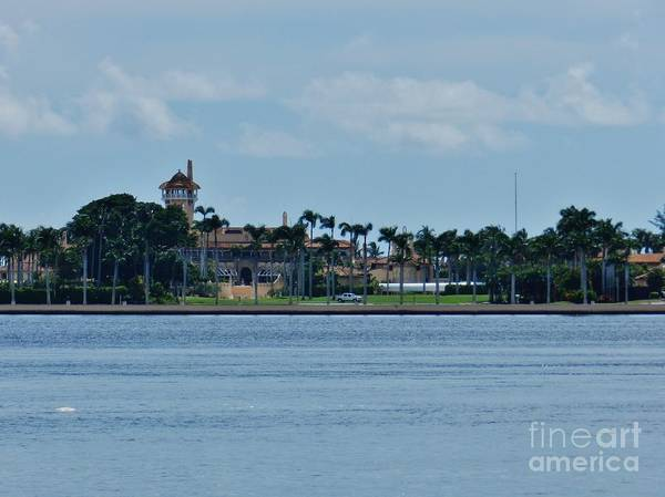 Wall Art - Photograph - Mar-a-lago Intracoastal View by Snapshot Studio