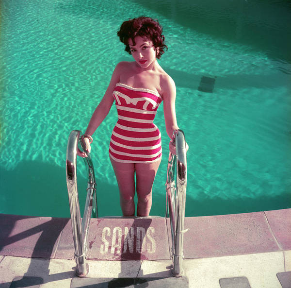Cute Photograph - Mara Lane by Slim Aarons