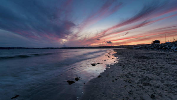 Photograph - Marazion Sunset - Cornwall by Eddy Kinol