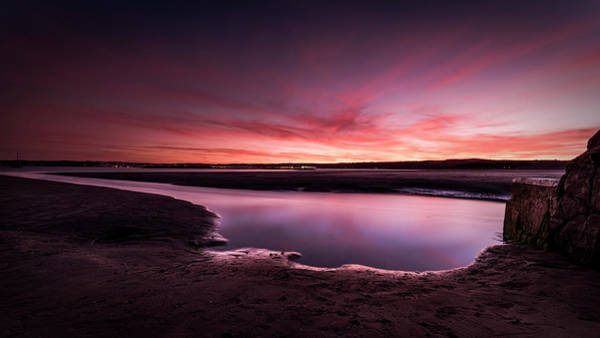 Photograph - Marazion Sunset by Eddy Kinol