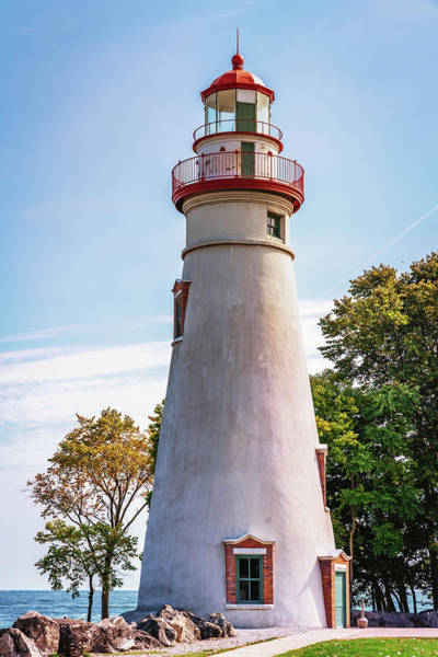 Photograph - Marblehead Lighthouse by Framing Places