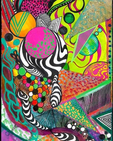 Wall Art - Drawing - Marbles by Carolina Rios