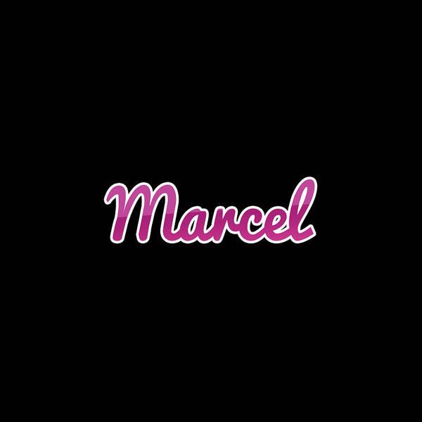 Wall Art - Digital Art - Marcel #marcel by TintoDesigns