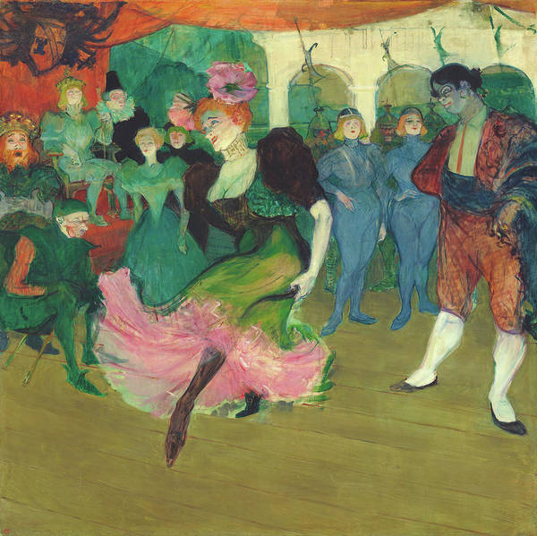 Wall Art - Painting - Marcelle Lender Dancing The Bolero In Chilperic - Digital Remastered Edition by Henri de Toulouse-Lautrec