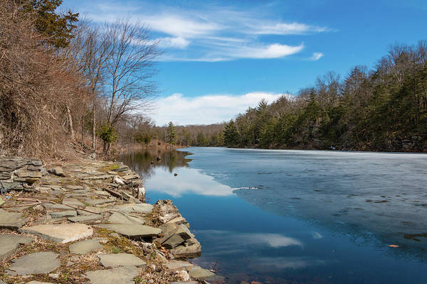 Photograph - March Morning At Sanctuary Pond by Jeff Severson