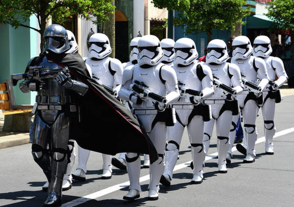 Wall Art - Photograph - March Of The First Order by David Lee Thompson
