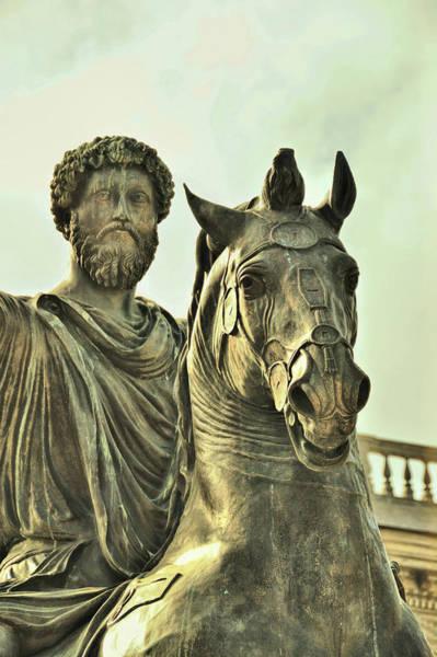 Photograph - Marcus Aurelius by JAMART Photography