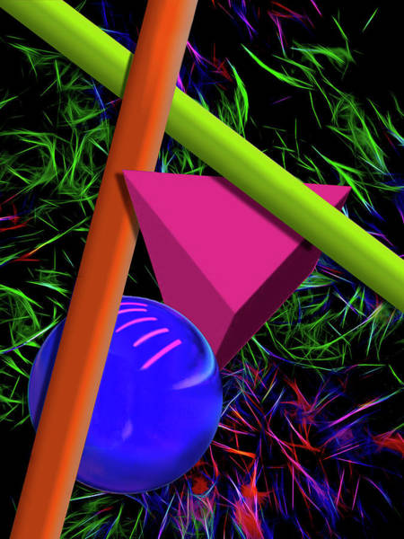 Digital Art - Mardi Gras by Paul Wear