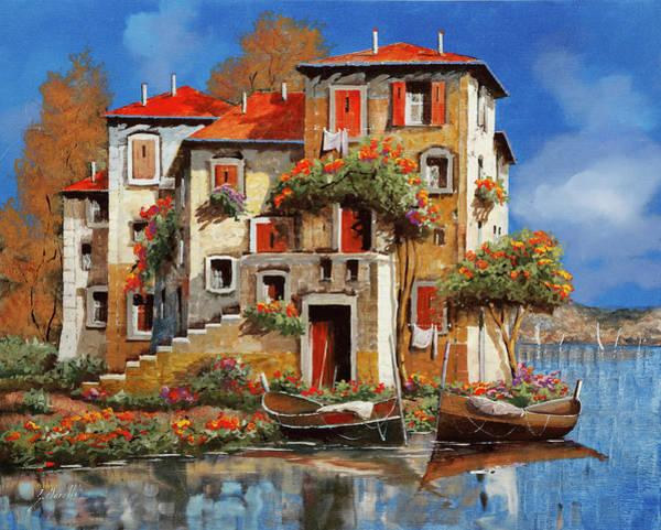 Painting - Mareblu-tetti Rossi by Guido Borelli