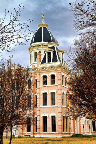 Photograph - Marfa County Courthouse  by Harriet Feagin
