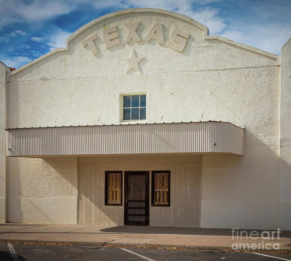 Storefront Photograph - Marfa Texas by Inge Johnsson