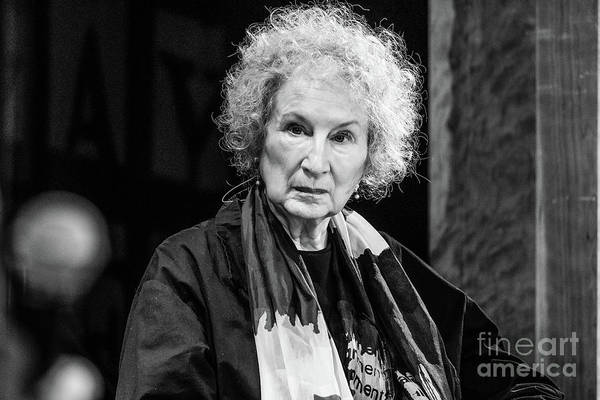 Photograph - Margaret Atwood At The Hay Festival 2018 by Keith Morris