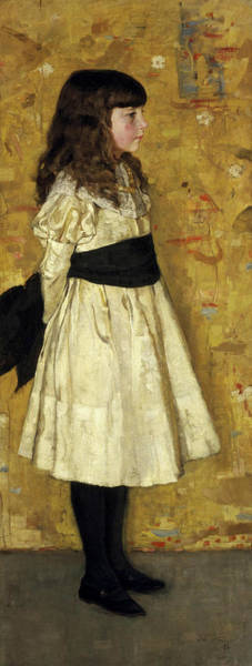 Wall Art - Painting - Margaret Helen Sowerby, Known As Helen Sowerby by James Guthrie