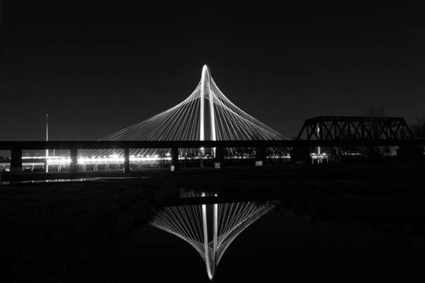 Photograph - Margaret Hunt Bridge Reflection by Jonathan Davison