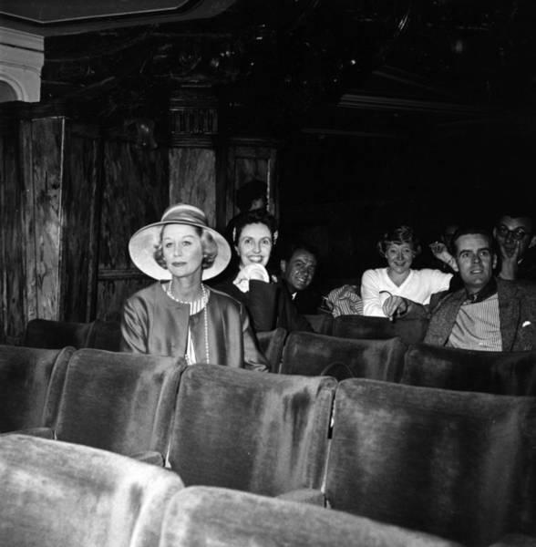 Auditorium Photograph - Margaret Leighton by Evening Standard