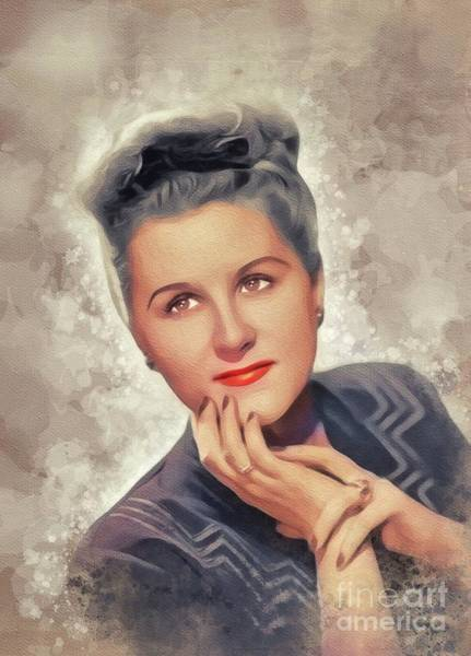 Wall Art - Painting - Margaret Whiting, Music Legend by John Springfield
