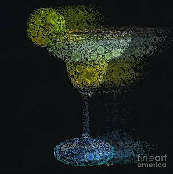 Wall Art - Digital Art - Margarita To Go by Diana Rajala