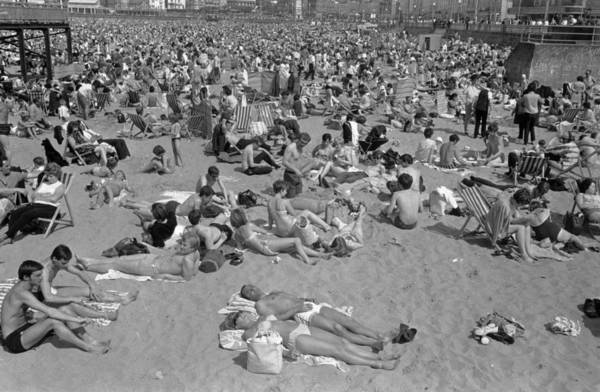 Margate Photograph - Margate Beach by Bert Hardy