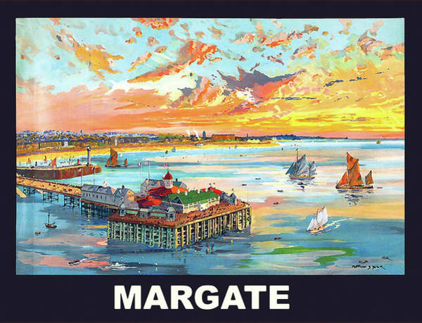 Seaside Digital Art - Margate by Long Shot