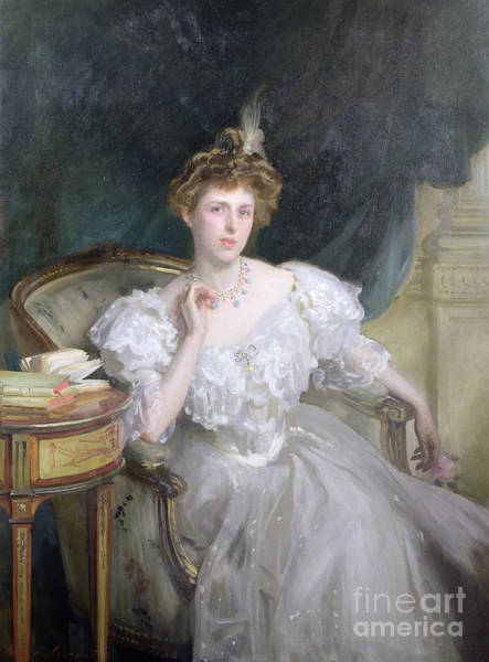 Wall Art - Painting - Margherita Goldsmid, Later Mrs Raphael by John Singer Sargent