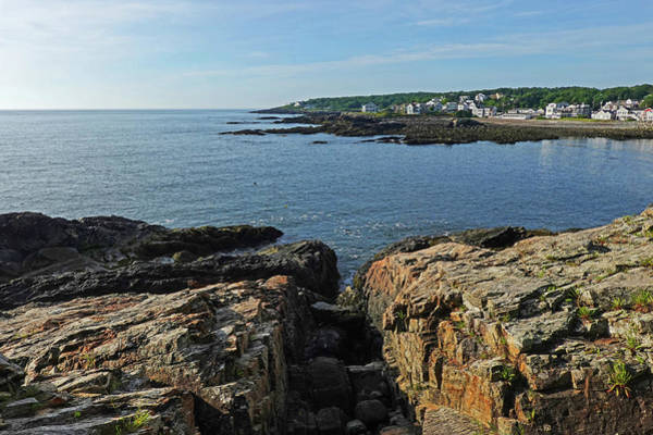 Wall Art - Photograph - Marginal Way Rocky Coastline Ogunquit Maine Morning by Toby McGuire