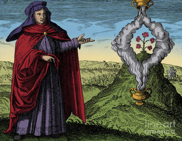 Photograph - Maria The Jewess, Alchemist by Science Source