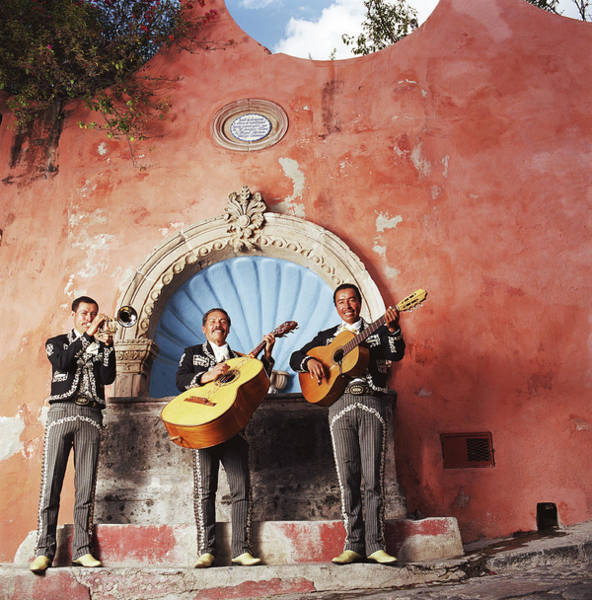 Wall Art - Photograph - Mariachi Performers, Portrait by Tony Anderson
