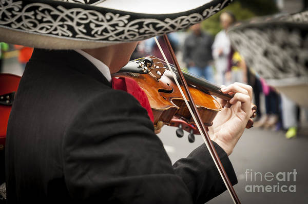 Lifestyles Wall Art - Photograph - Mariachis In Mexico City by Javier Garcia